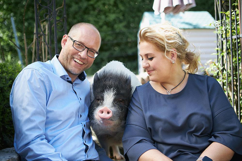 Claudia & Oliver Eckert mit Whoopie